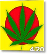 Cannabis 420 Collection Metal Print