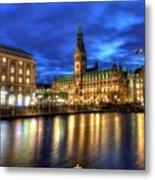 Hamburg Germany Metal Print
