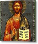 Jesus Christ Catholic Art Metal Print