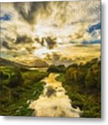 Landscape Color Metal Print