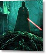Video Star Wars Art Metal Print