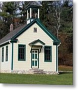 1800's School House 1 Metal Print