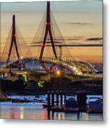 1812 Constutition Bridge From Rio San Pedro Puerto Real Spain Metal Print