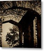 1833 Ruins Metal Print
