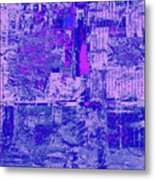 1848 Abstract Thought Metal Print