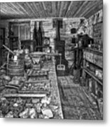 1860's Ore Assay Office Shop - Montana Metal Print by Daniel Hagerman
