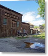 1863 H. S. Gilbert Brewery - Virginia City Ghost Town Metal Print