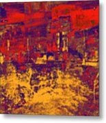 1872 Abstract Thought Metal Print