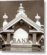 1880 Bank Metal Print