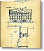 1884 Bottling Machine Patent - Vintage Metal Print