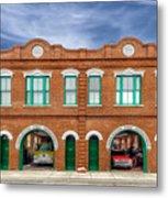 1887 Charleston Fire Station - 1 Metal Print