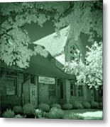 1891 Railroad Depot 2 Metal Print