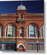 1898 Building Front Metal Print