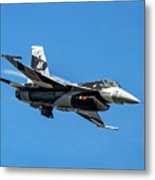 18th Aggressor Sgn Viper Pulling Up Trailing Vapes Metal Print
