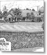 18th Hole - Deercreek Country Club Metal Print