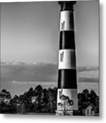Bodie Island Lighthouse Obx Cape Hatteras North Carolina Metal Print