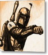 Collection Star Wars Art Metal Print