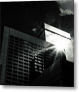 Denver Building Study Metal Print