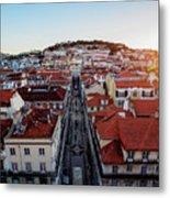 Lisbon, Portugal Metal Print