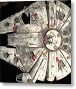 Saga Star Wars Art Metal Print