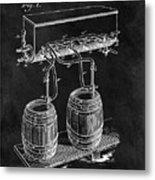 1900 Beer Cooler Metal Print