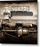 1906 White Model F Roi Des Belges Touring Rear Lamp -0058s Metal Print