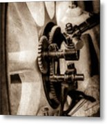 1912 Packard 30 7 Passenger Touring Wheel -0026s Metal Print