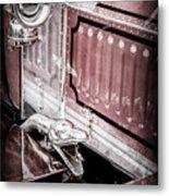 1912 Rolls-royce Silver Ghost Rothchild Et Fils Style Limousine Snake Horn -0711ac Metal Print