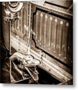 1912 Rolls-royce Silver Ghost Rothchild Et Fils Style Limousine Snake Horn -0711s Metal Print