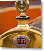 1913 Fiat Type 56 7 Passenger Touring Hood Ornament Metal Print