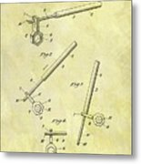 1913 Wrench Patent Metal Print