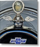 1915 Chevrolet Touring Hood Ornament 2 Metal Print