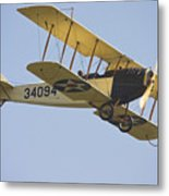 1917 Curtiss Jn-4d Jenny Flying Canvas Photo Poster Print Metal Print