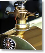 1917 Owen Magnetic M-25 Hood Ornament Metal Print