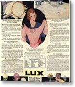 1917 Soap Ad  Metal Print