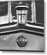 1917 Winton Six-33 Sport Touring Hood Ornament 2 Metal Print