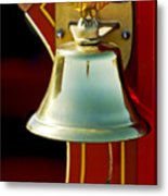 1919 Fire Truck Bell Metal Print