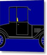 1919 Ford High Body Model T Coupe Metal Print