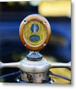 1919 Ford Model T Hood Ornament Original Metal Print by Paul Ward