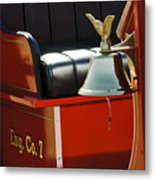 1919 Volunteer Fire Truck Eng. Co. 7 Metal Print