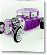 1920s Hotrod Pickup Metal Print