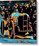 1920's Racing Car Metal Print