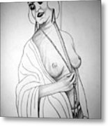 1920s Women Series 13 Metal Print