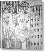 1920s Women Series 6 Metal Print