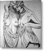 1920s Women Series 8 Metal Print