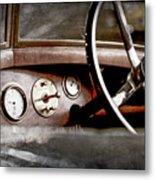 1921 Bentley Steering Wheel -0454ac Metal Print