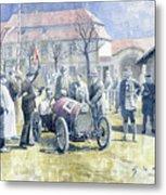 1922 Zbraslav Jiloviste Bugatti T13 Brescia Joan Halmovici Winner  Metal Print