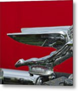 1924 Ford Hood Ornament Metal Print