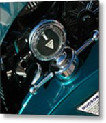 1924 Hudson Hood Ornament Metal Print