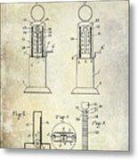 1926 Toy Filling Station Patent Metal Print
